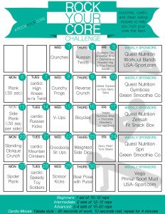 "Time to ""Rock Your Core"""