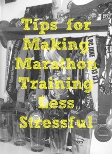 marathon training stress