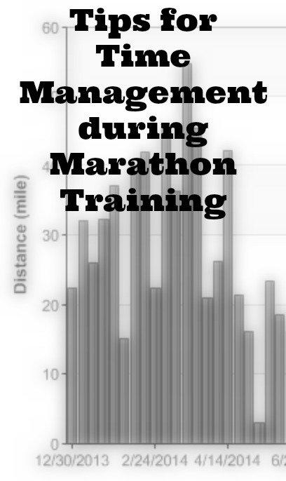 Time Management during Marathon Training