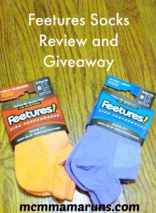 Feetures Socks review and giveaway!