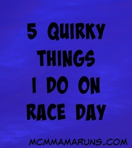 Five Race Day Rituals
