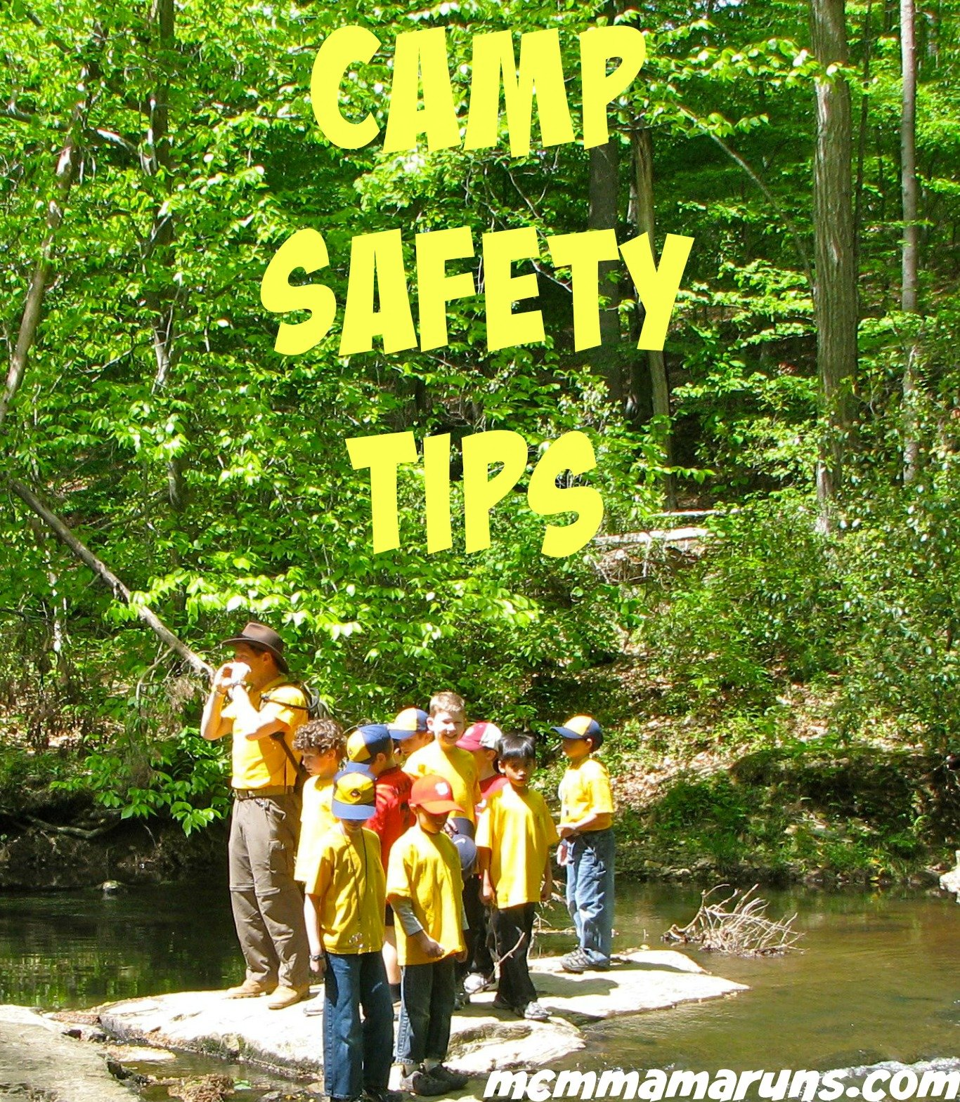 Camp safety tips for keeping kids healthy this summer