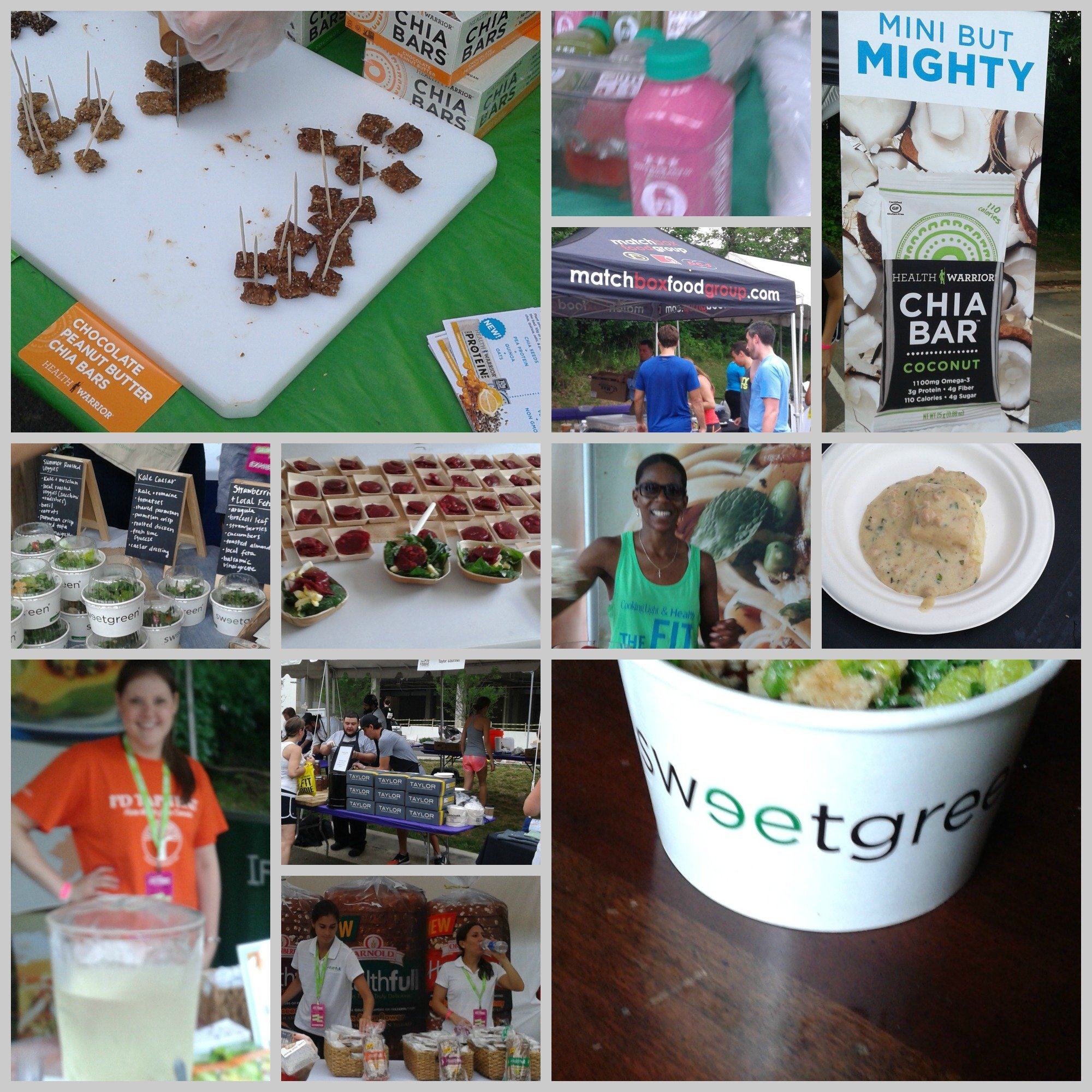 Fit Foodie finish festival