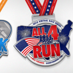Gone for a Run: All 4 Run Virtual 4 Mile Race