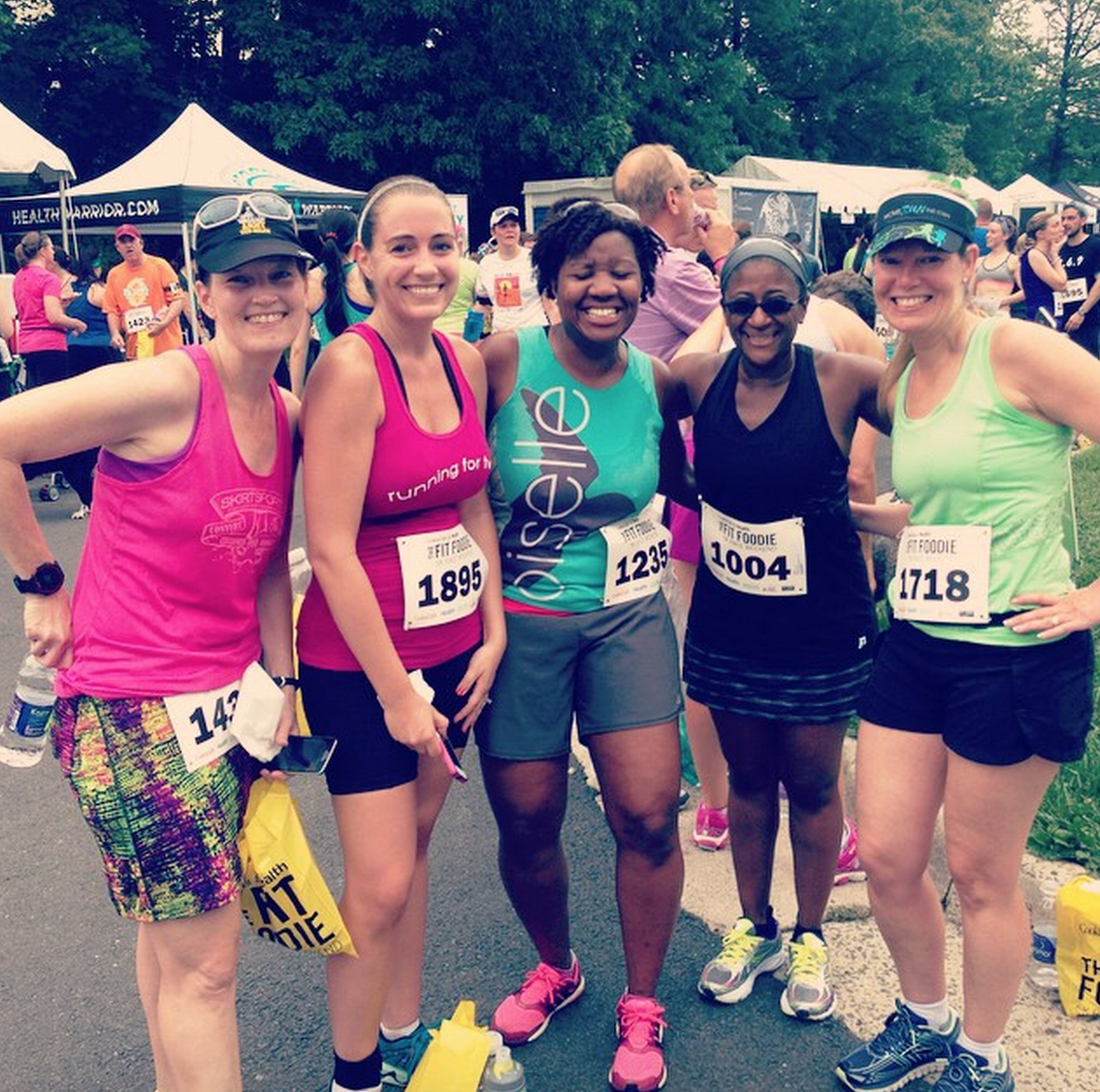 Fit Foodie 5K finish