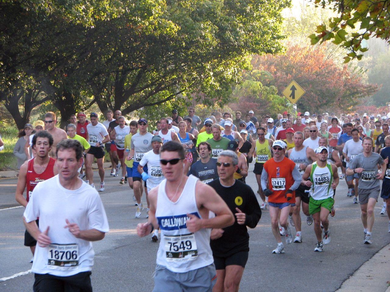 Marine Corps Marathon route