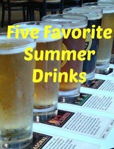 Friday Five: Favorite Summer Drinks