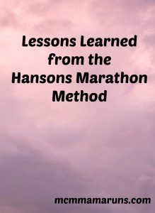 Hansons Marathon Method Review