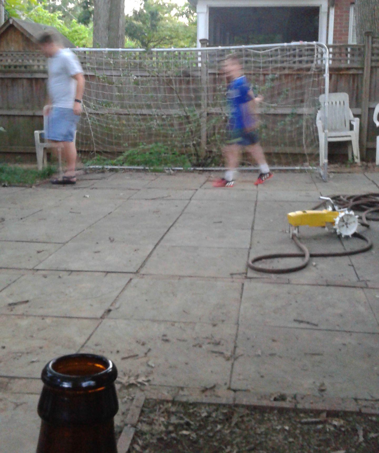 beer soccer