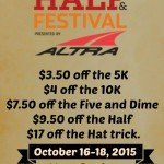 Runner's World Half and Festival discount + coffee!