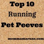 TOTR: Running pet peeves