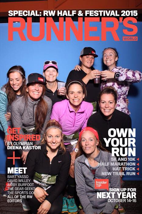 Runner's World blogger cover photo