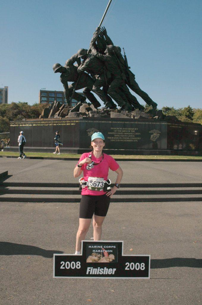Marine Corps Marathon 2008 Iwo Jima