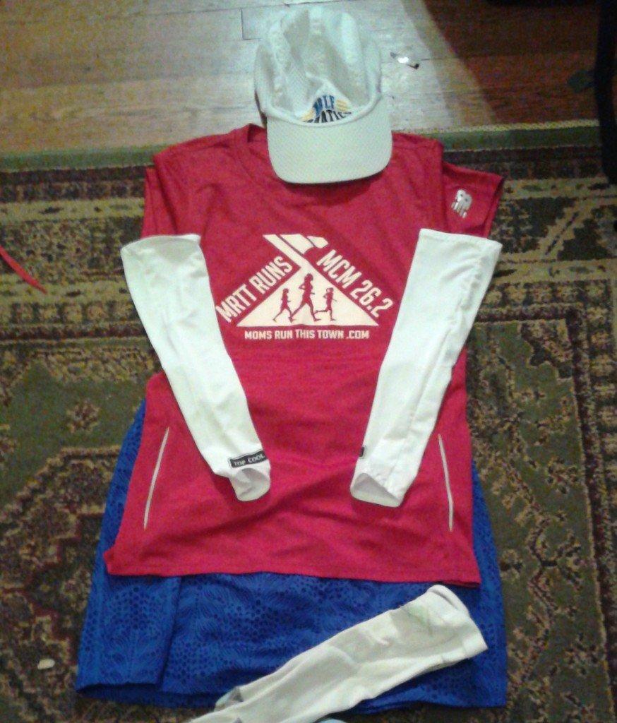 marine corps marathon red white and blue