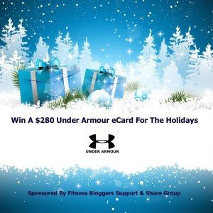 Huge Under Armour Giveaway and Black Friday Thankfulness
