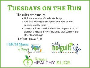 Tuesdays on the Run Update