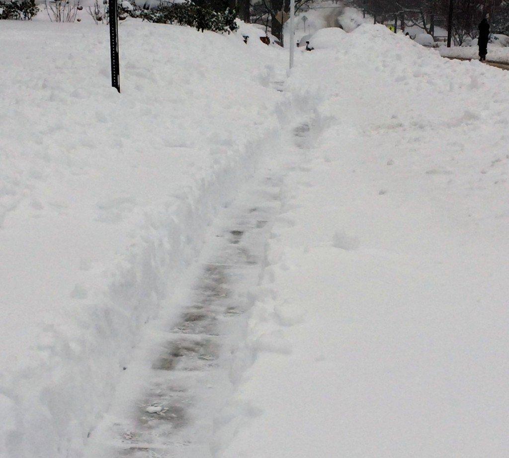 Saturday sidewalk
