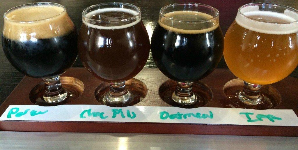 New District beer sampler