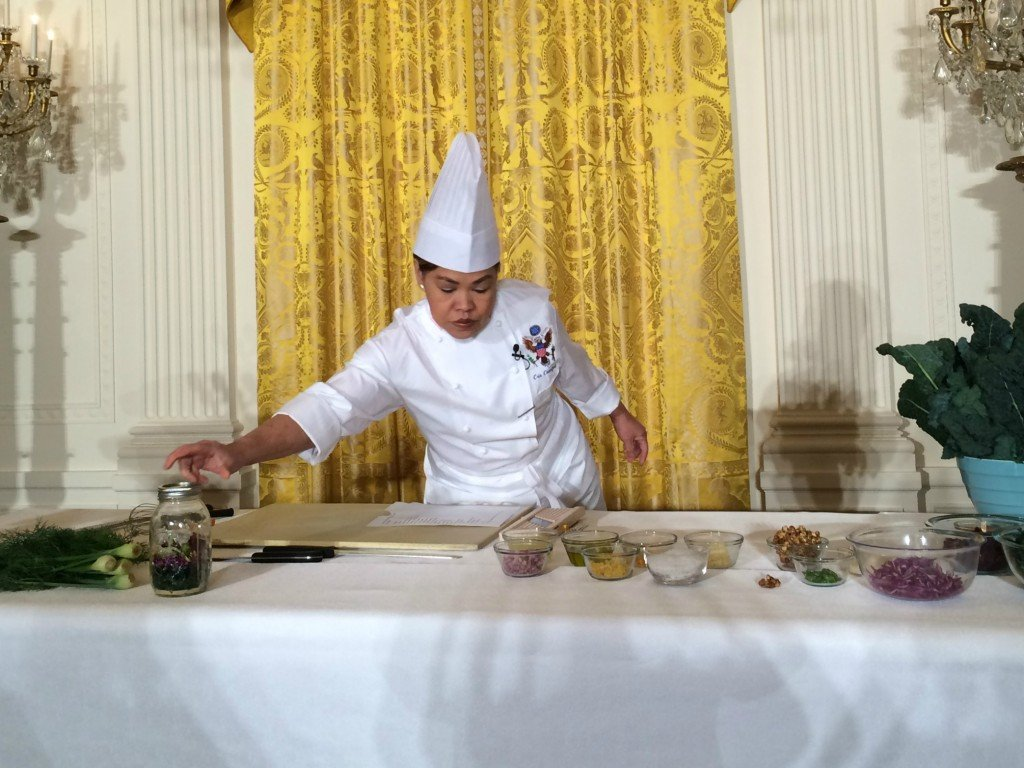 white house let's move chef