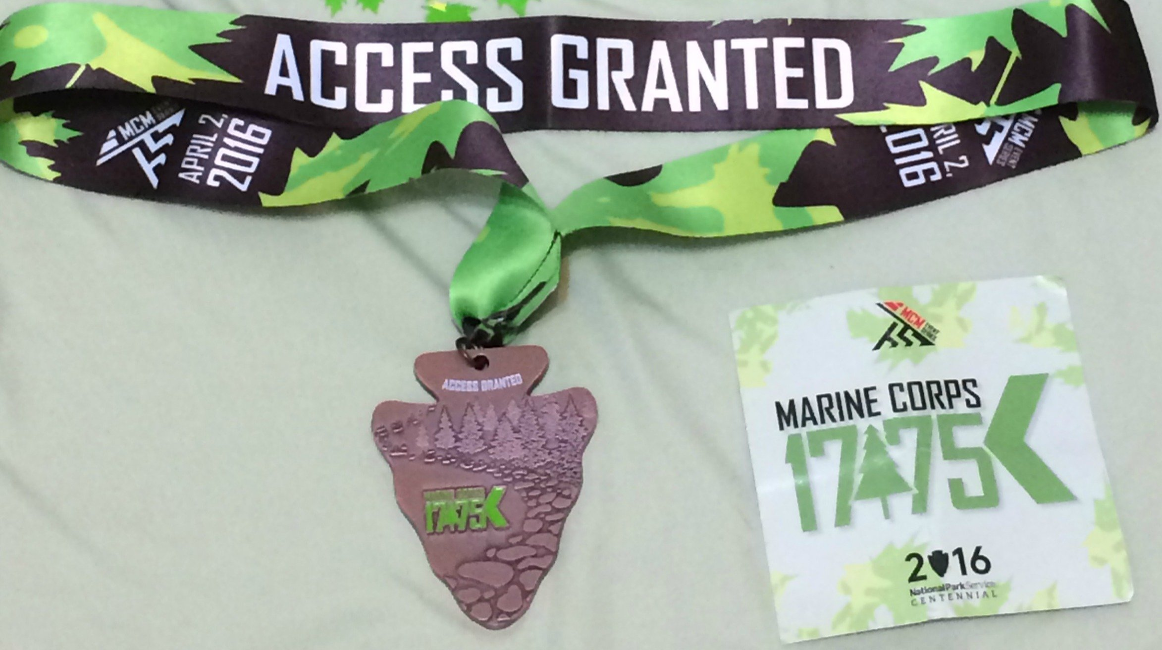 17.75 access granted medal
