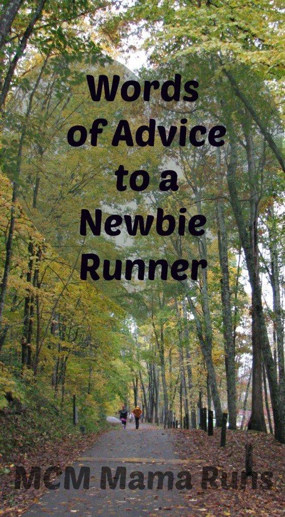 Advice to a newbie runner
