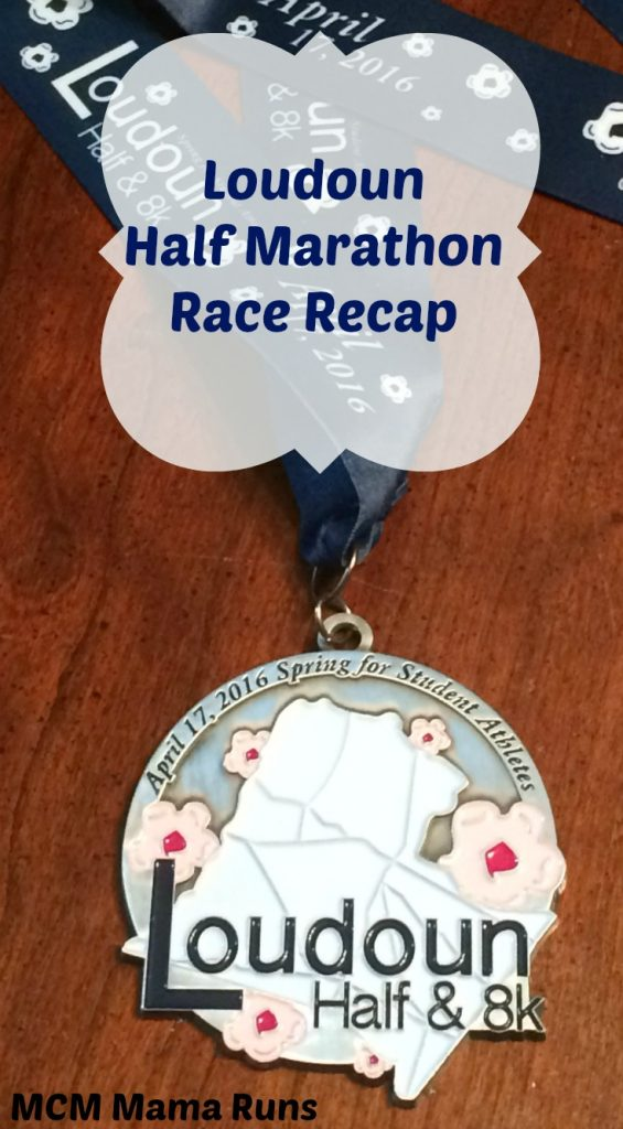 Loudon Half Marathon recap