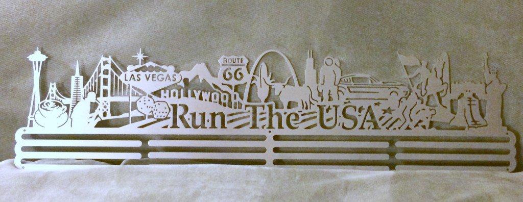 Run The USA hanger