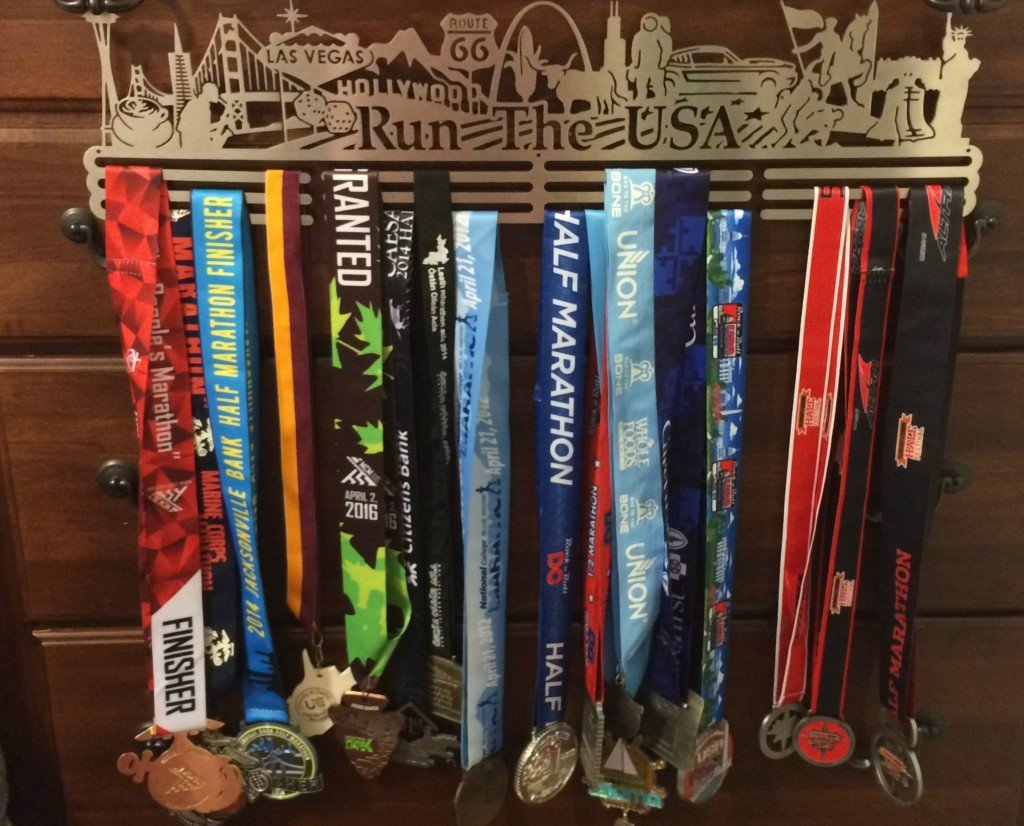 Run the USA with medals