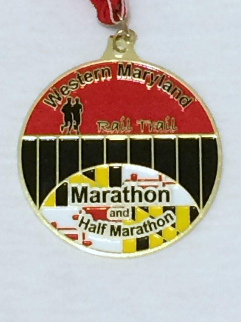 WM half medal