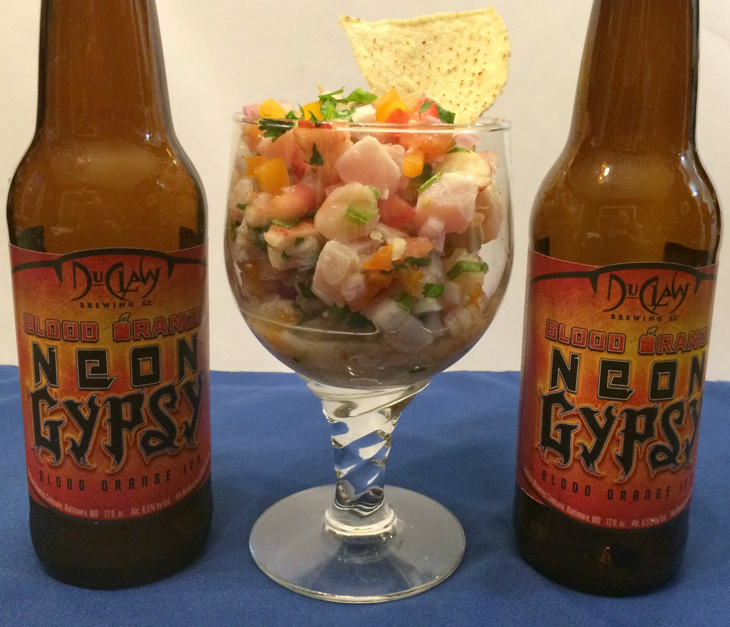 DuClaw Blood Orange Neon Gypsy Ceviche