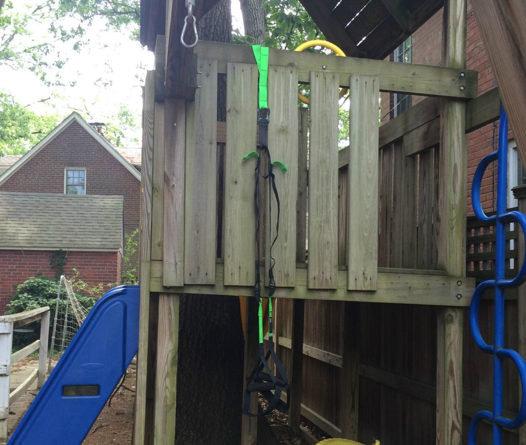 FE Strong home gym suspension playset