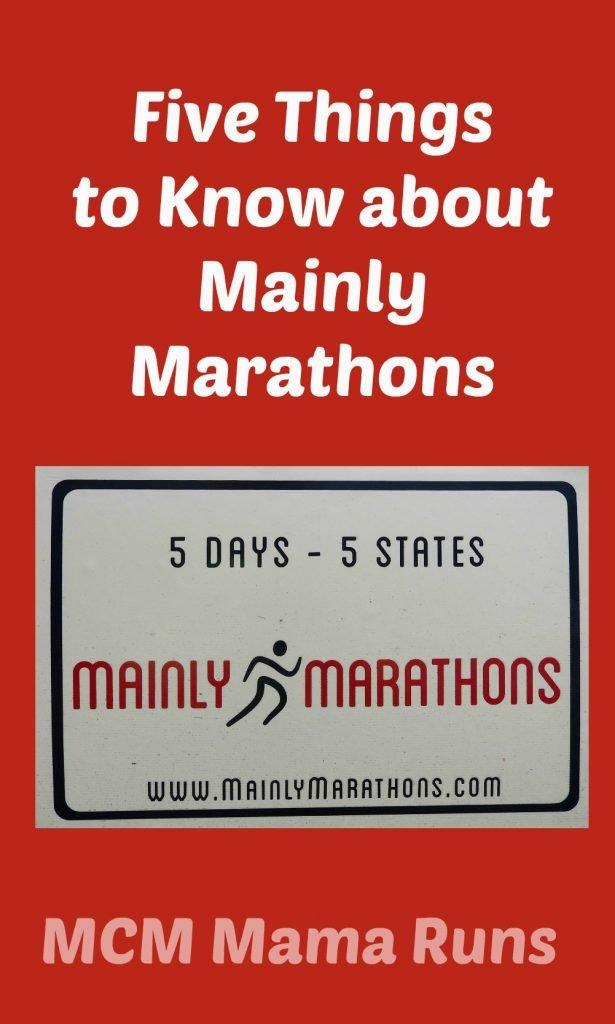 Mainly Marathons info