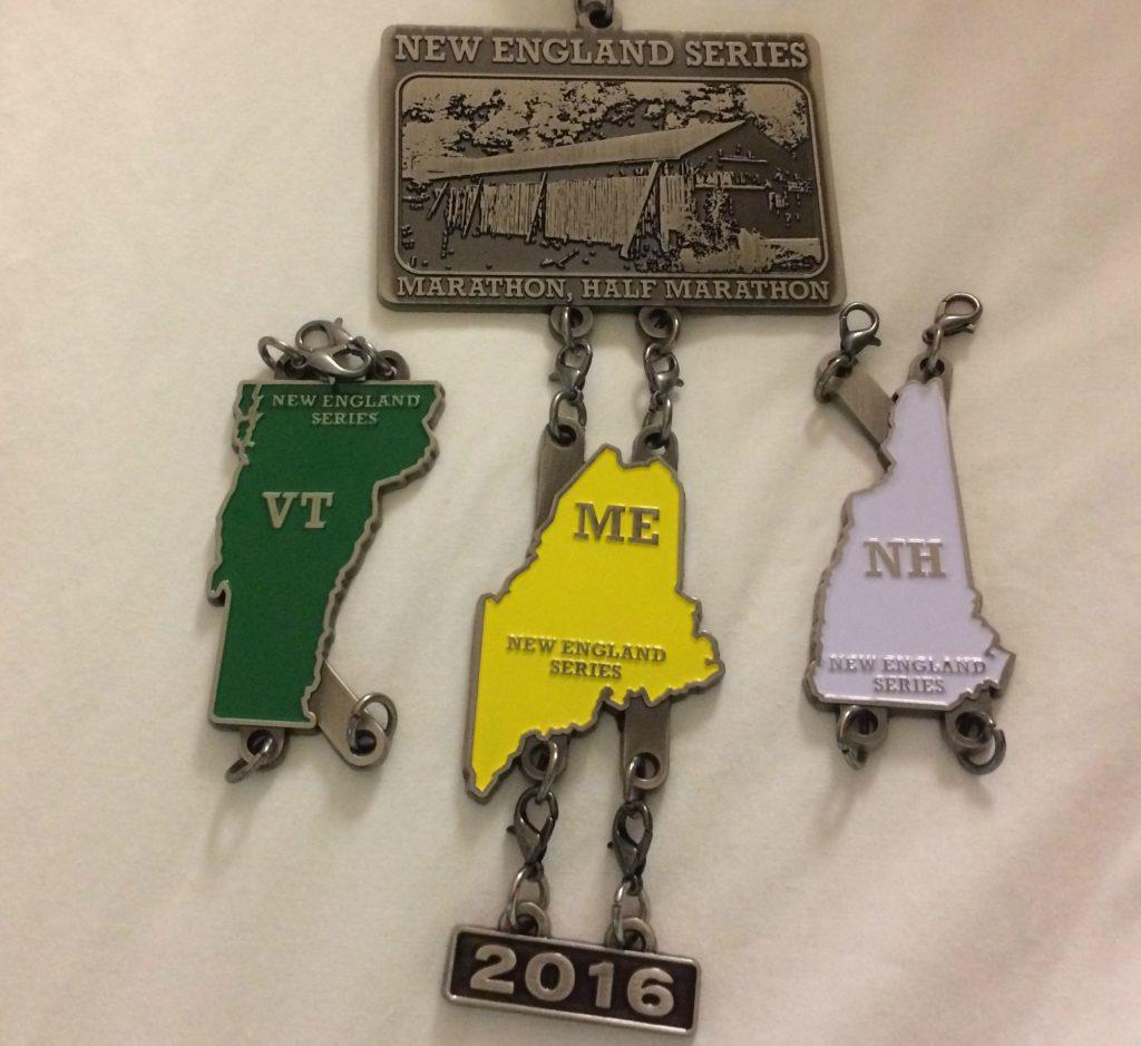 New England Medals ME NH VT