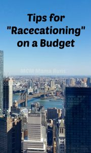 Budgeting Tips for a Racecation