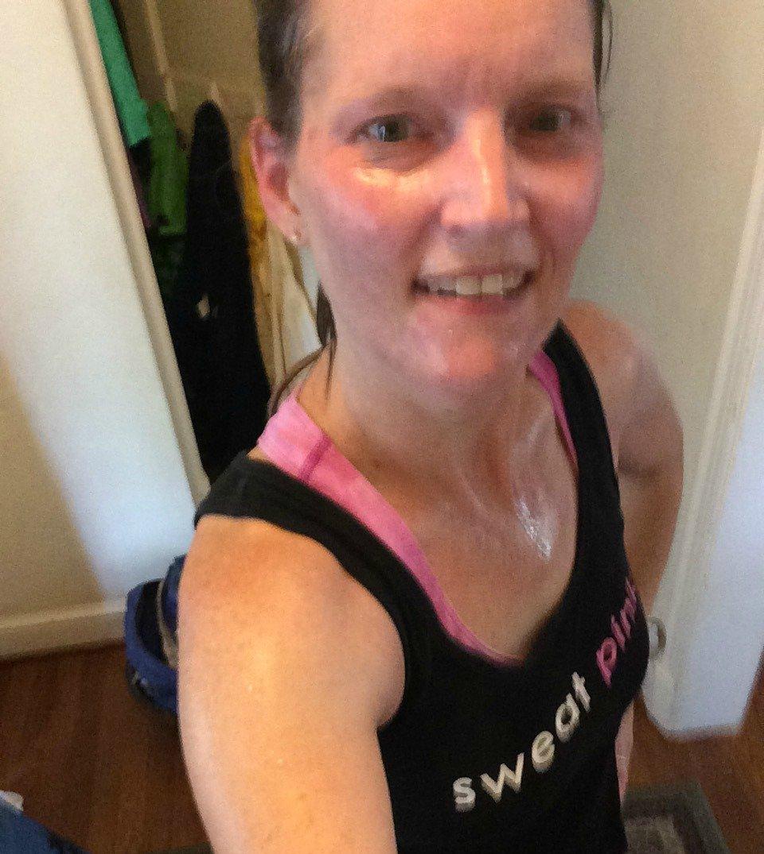 Sweaty run