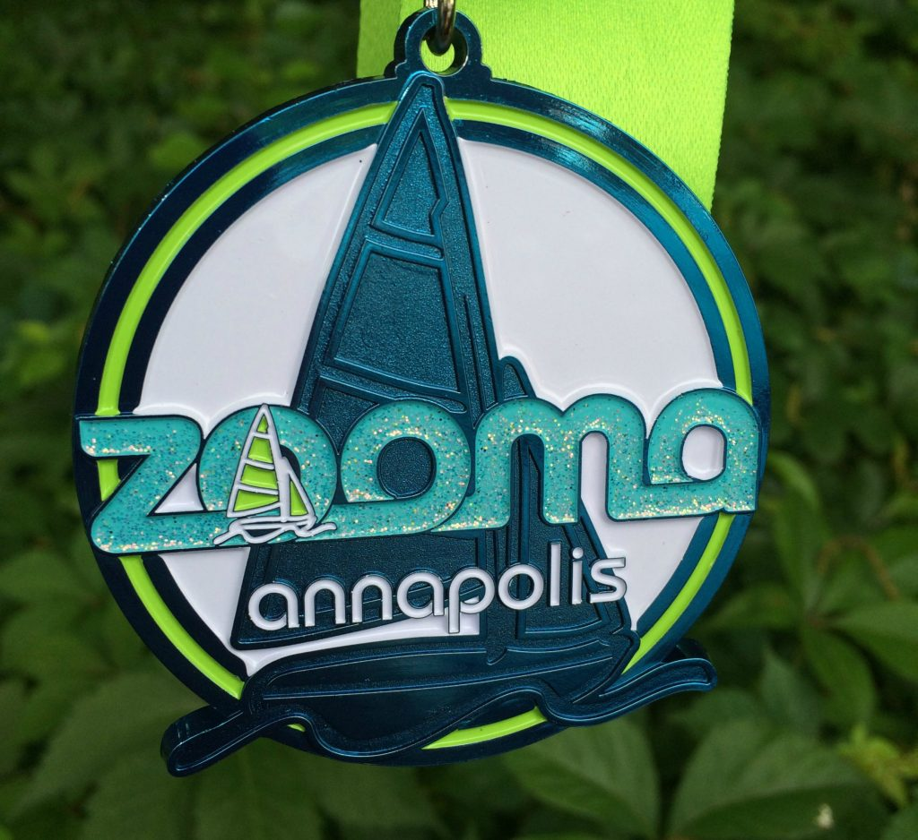 ZOOMA 2016 medal
