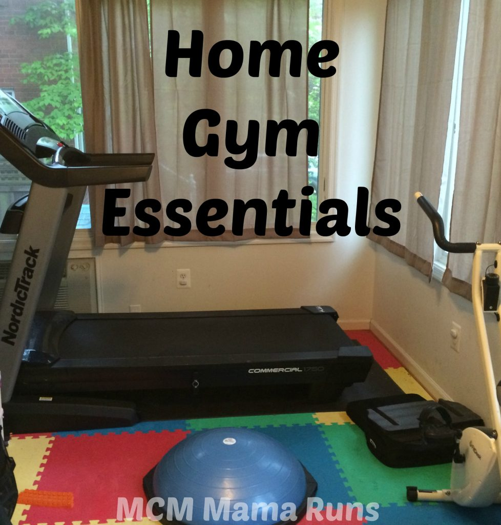 home gym essentials