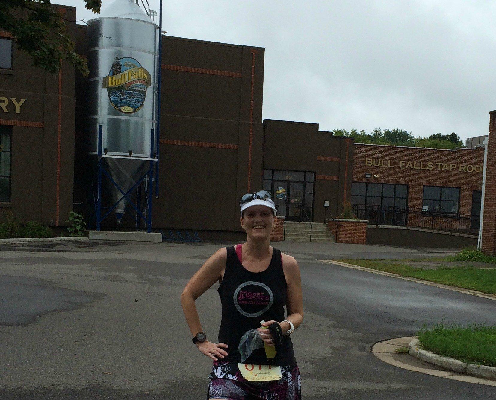 Wausau half marathon Bull Falls Brewery