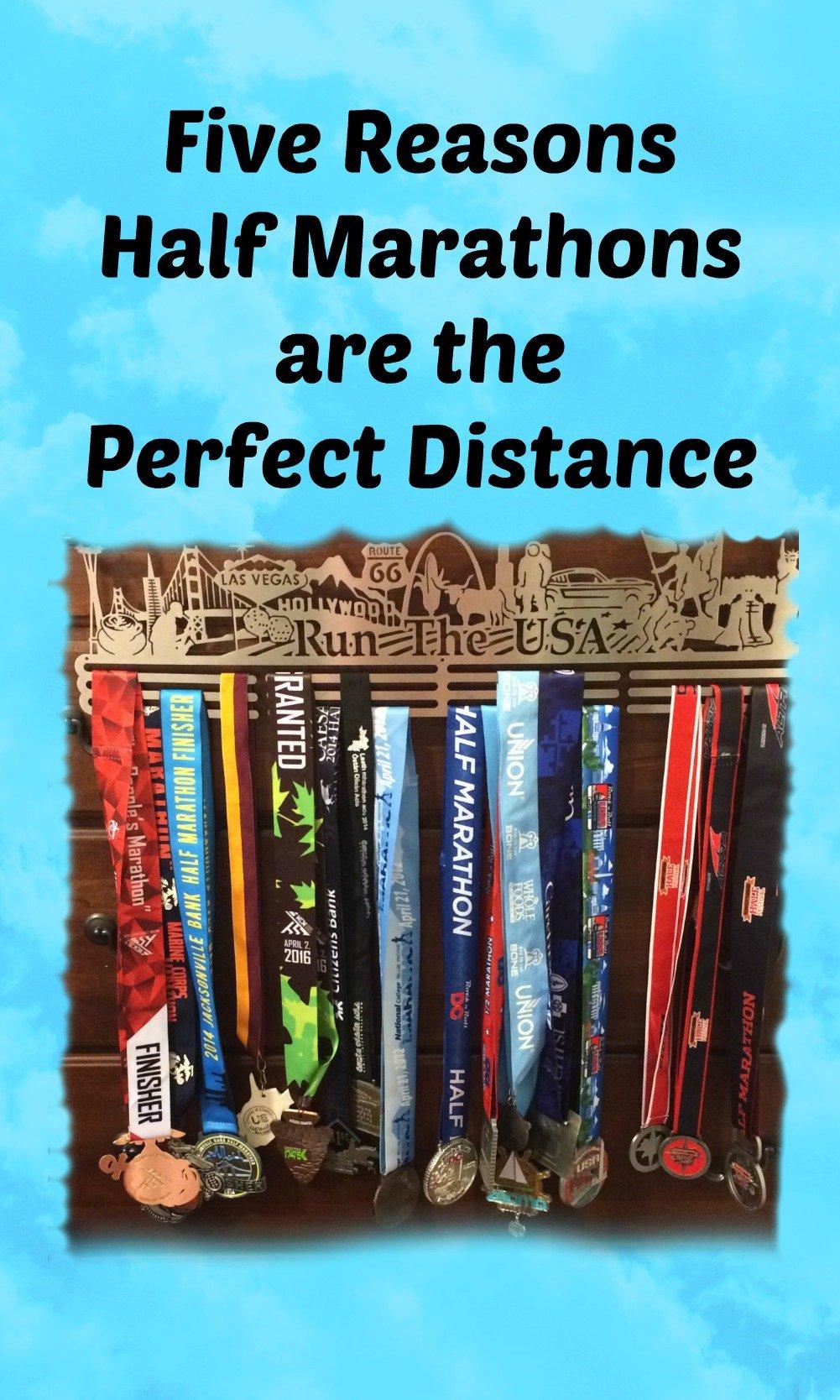 Half marathons are the perfect distance