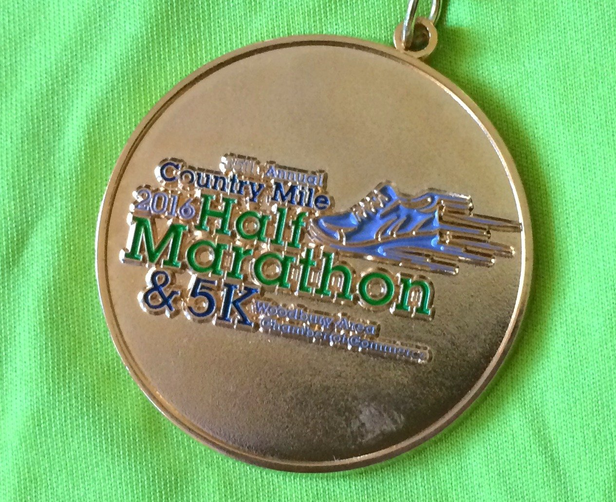 woodbury country mile medal