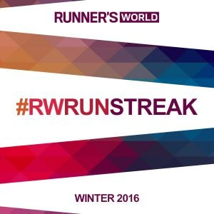 Who is going streaking with me? #RWrunstreak