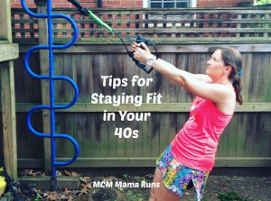 Tips for Staying Fit in your 40s
