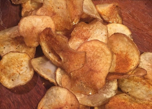 Q Dry Rubbed Pale Ale Potato chips
