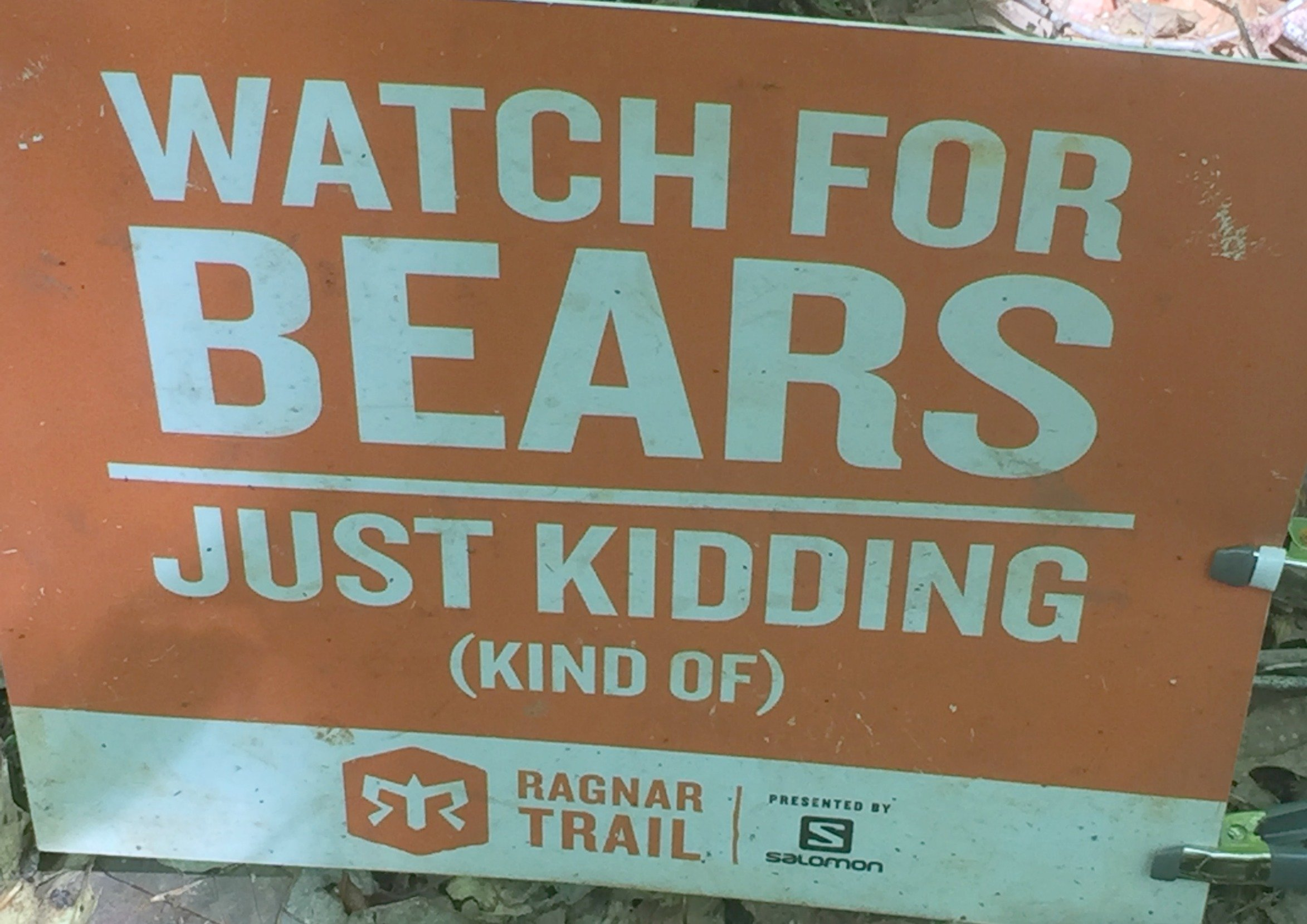Ragnar Trail Richmond no bears