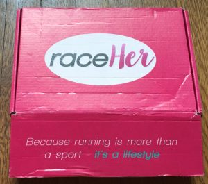 RaceHer July Subscription Box Reveal and Review