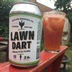 DuClaw Lawn Dart Michelada