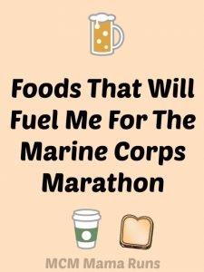 Fueling my way through the Marine Corps Marathon