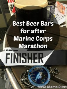 Where to celebrate the Marine Corps Marathon with a beer