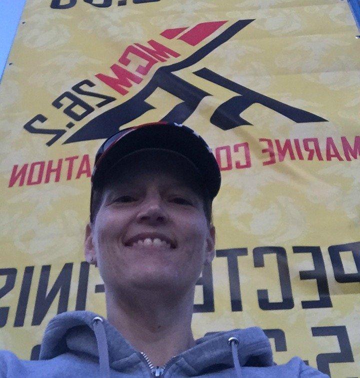 Marine Corps Marathon 2017 selfie