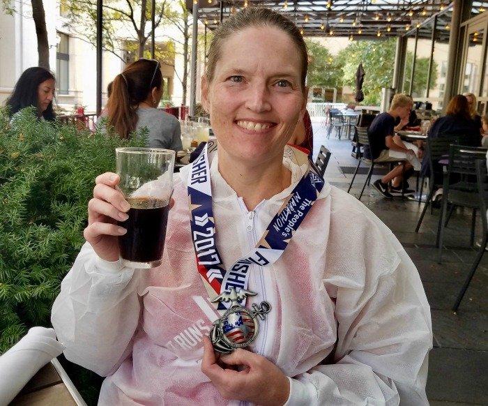 Marine Corps Marathon 2017 beer